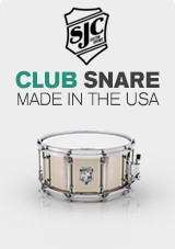SJC Club Snare Drum, Made in US