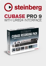Steinberg Cubase Pro 9 with UR824 Interface
