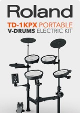 Roland TD-1KPX Protable V-Drums Electronic Drum Kit