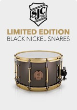 SJC Ltd Ed Black Nickel Snares
