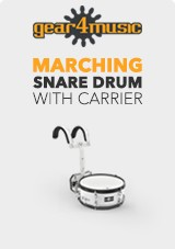 14' X 5,5' Marching Snare with Carrier by Gear4music