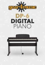 DP-6 pianino cyfrowe marki Gear4music