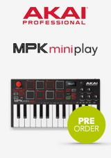 Akai MPK Mini Play Wolnostojący Keyboard i Kontroler MIDI
